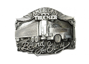 Gürtelschnalle - Trucker Buckle - American Trucker - Bound for Glory